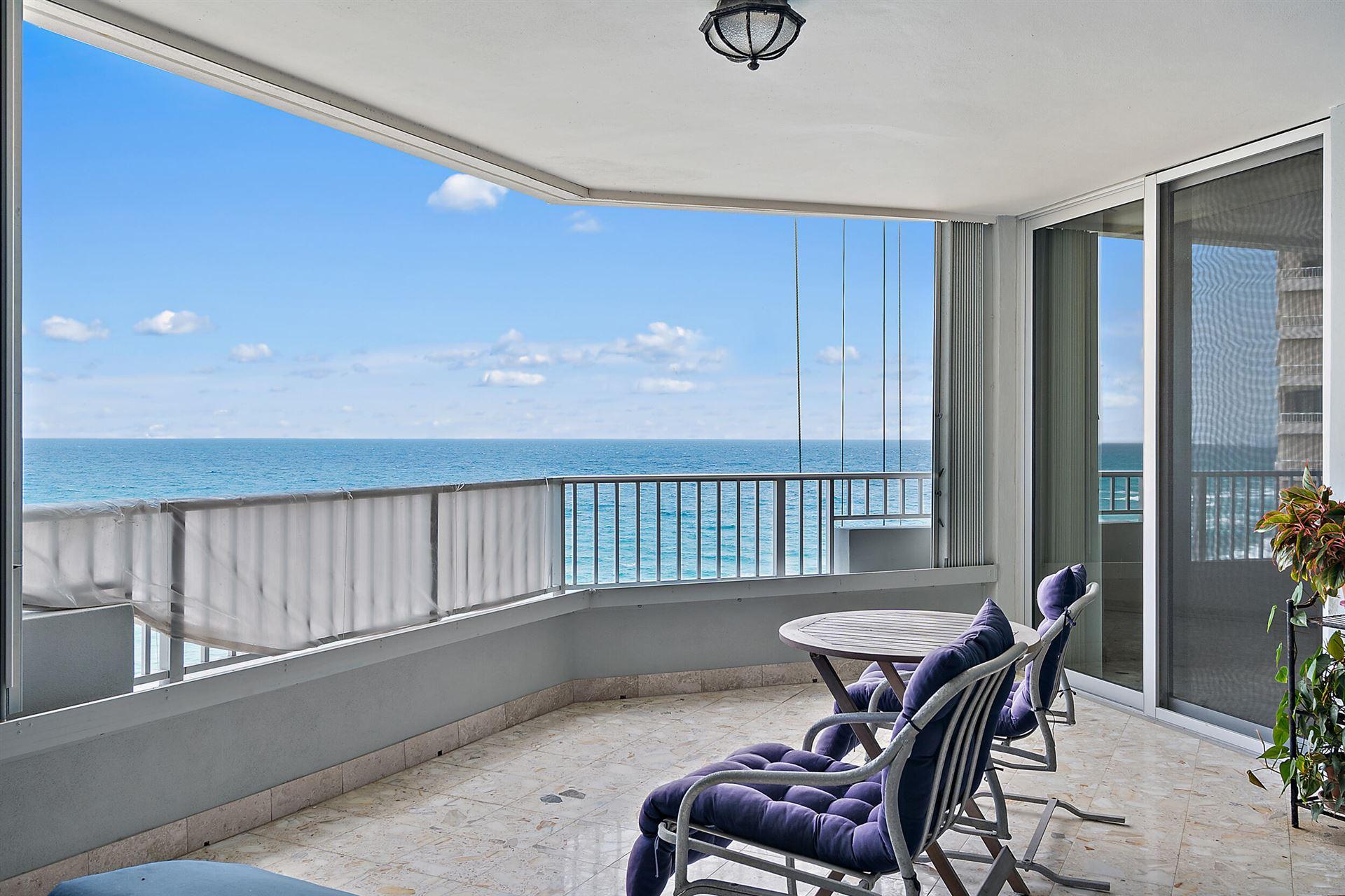 Photo for 5200 N Ocean Drive #1003, Singer Island, FL 33404 (MLS # RX-10741623)