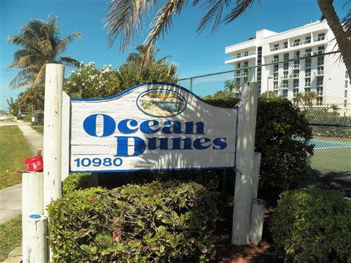 Photo of 10980 S Ocean Drive #411, Jensen Beach, FL 34957 (MLS # RX-10614624)