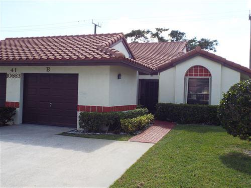Photo of 10663 Palm Leaf Drive #B, Boynton Beach, FL 33437 (MLS # RX-10696626)