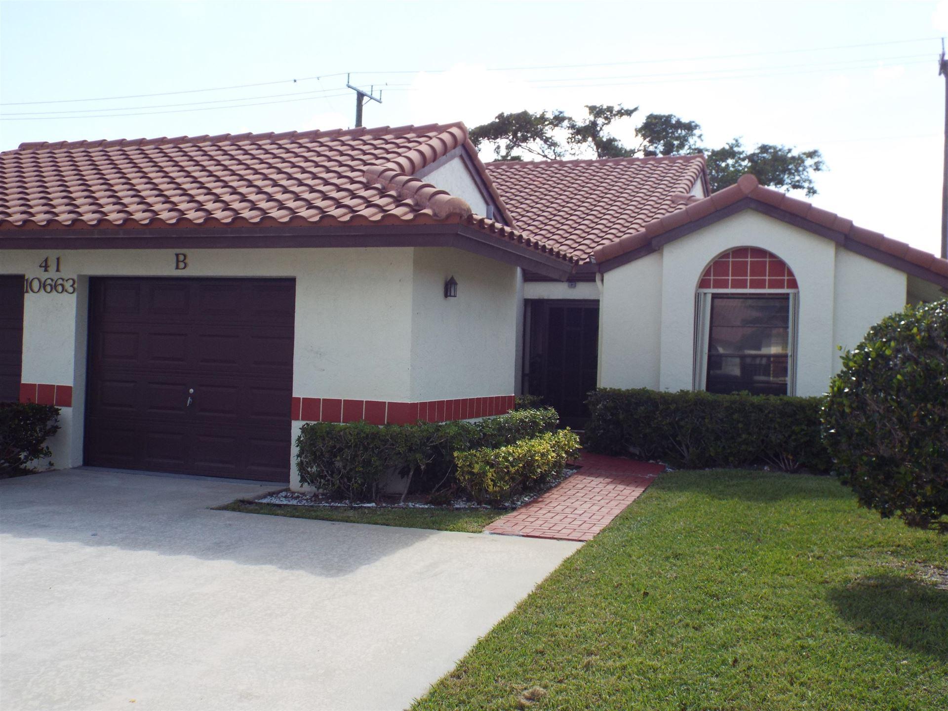 10663 Palm Leaf Drive #B, Boynton Beach, FL 33437 - #: RX-10696626
