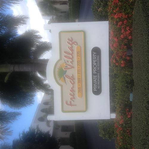 Foto de inmueble con direccion 771 Jeffery Street #201 Boca Raton FL 33487 con MLS RX-10651627