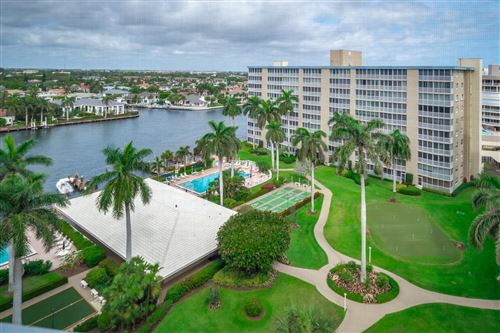 Photo of 3300 S Ocean Boulevard #1018-C, Highland Beach, FL 33487 (MLS # RX-10696629)