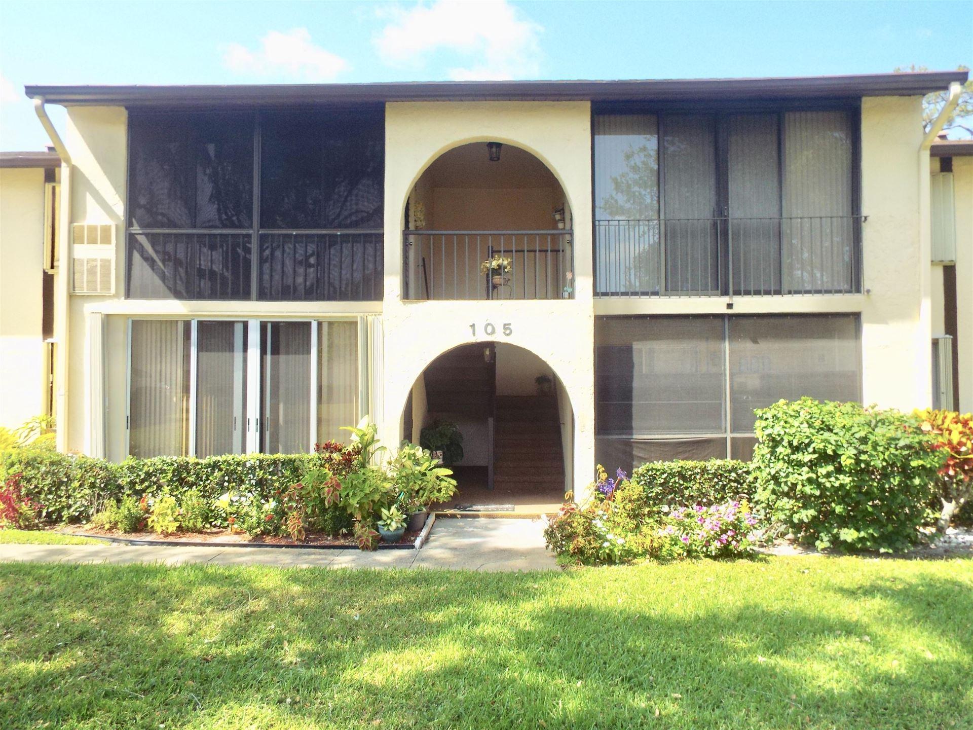 105 Lake Pine Circle #B-2, Greenacres, FL 33463 - MLS#: RX-10707629