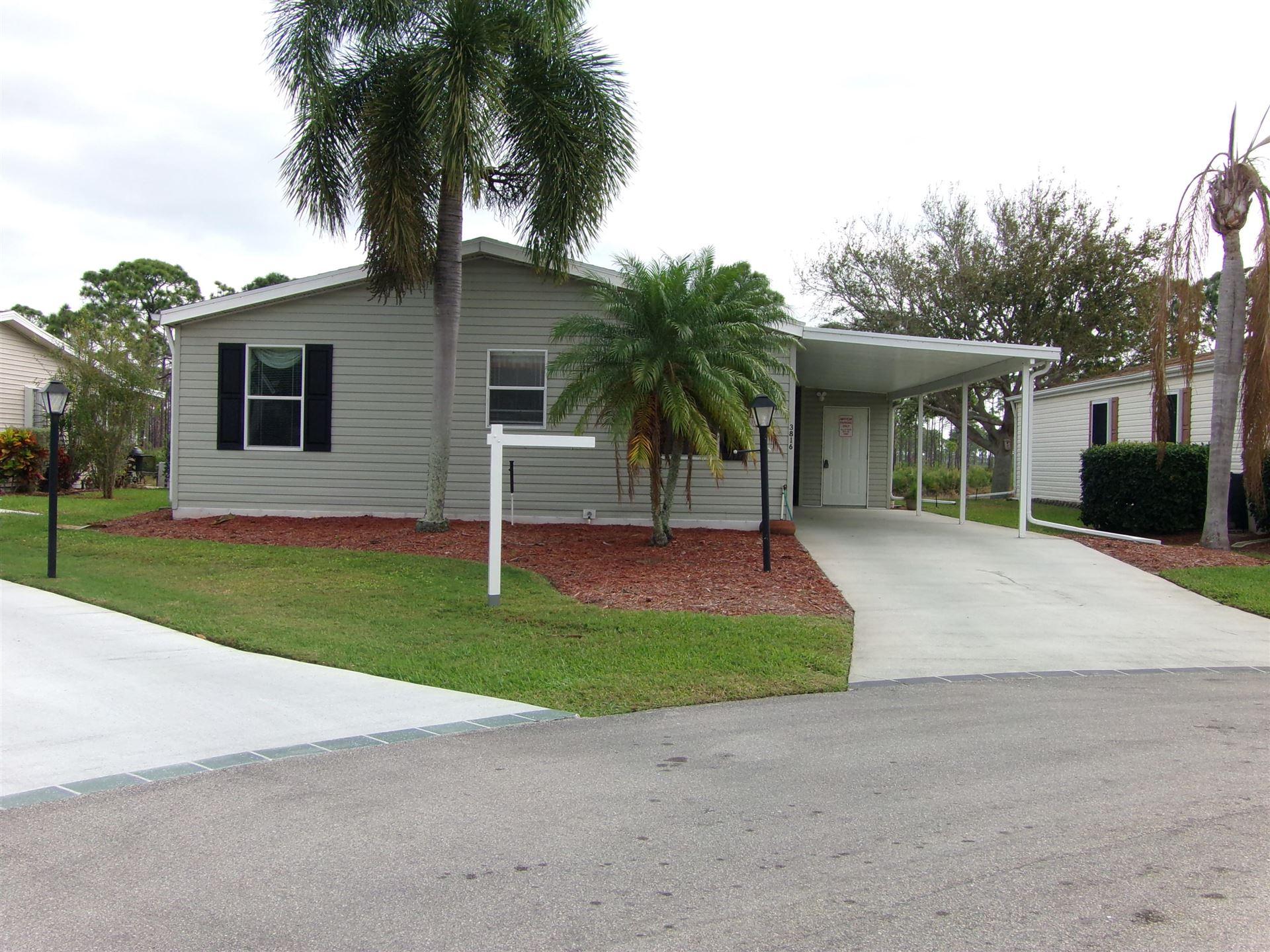 3816 Fetterbush Court, Port Saint Lucie, FL 34952 - #: RX-10686630