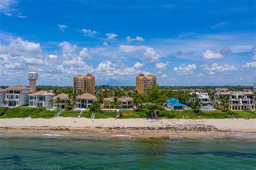 Photo of 3594 S Ocean Boulevard #102, Highland Beach, FL 33487 (MLS # RX-10543632)