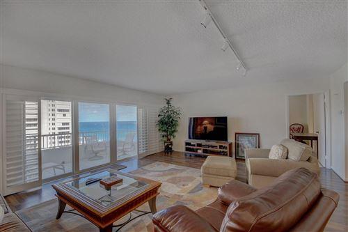 Photo of 600 S Ocean Boulevard #1207, Boca Raton, FL 33432 (MLS # RX-10657635)
