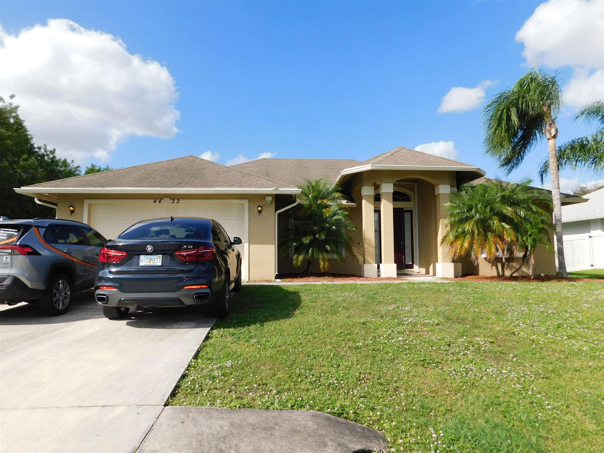 4422 SW Bonney Street, Port Saint Lucie, FL 34953 - #: RX-10671635