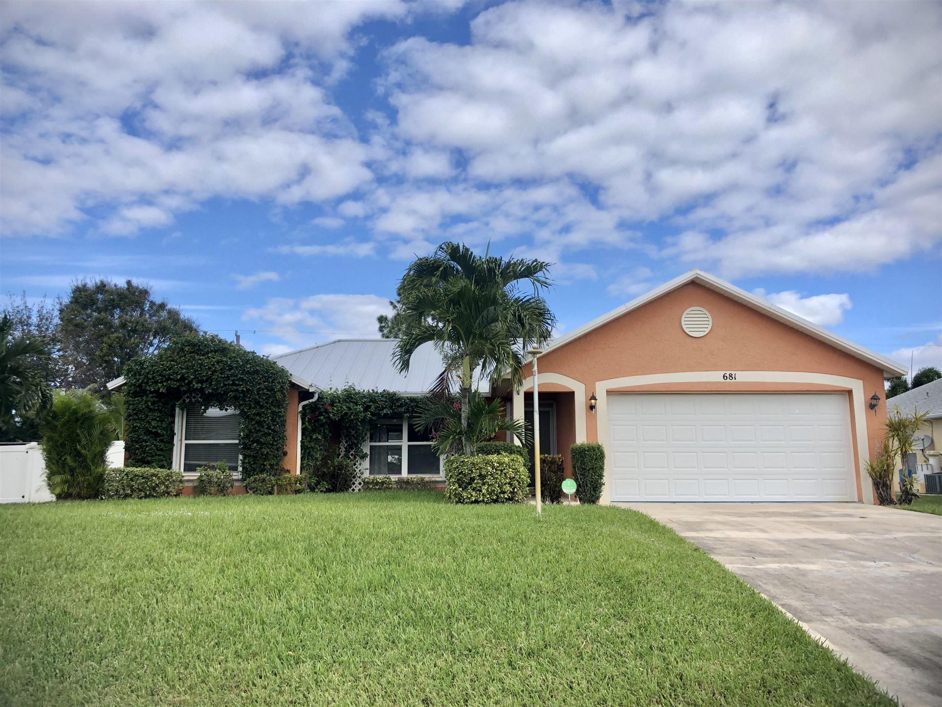681 SE Streamlet Avenue, Port Saint Lucie, FL 34983 - #: RX-10675635