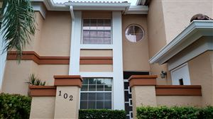 Photo of 9977 Harbour Lake Circle #102, Boynton Beach, FL 33437 (MLS # RX-10545636)