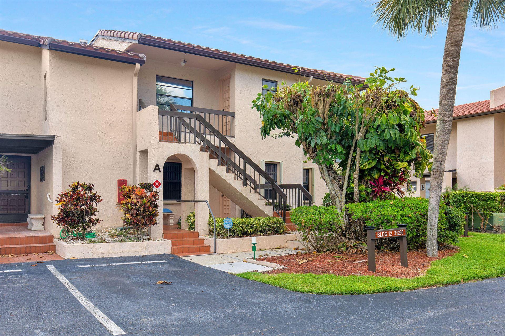 21290 Juego Circle #12-A, Boca Raton, FL 33433 - MLS#: RX-10723636