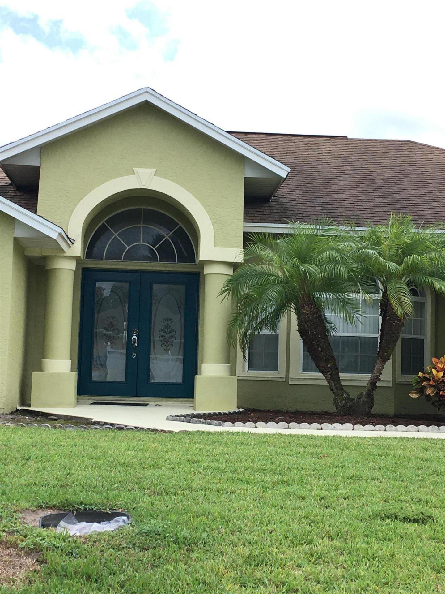 1502 SW Dow Lane, Port Saint Lucie, FL 34953 - #: RX-10657637