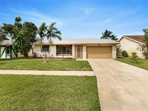 Photo of 14845 Summersong Lane, Delray Beach, FL 33484 (MLS # RX-10694638)