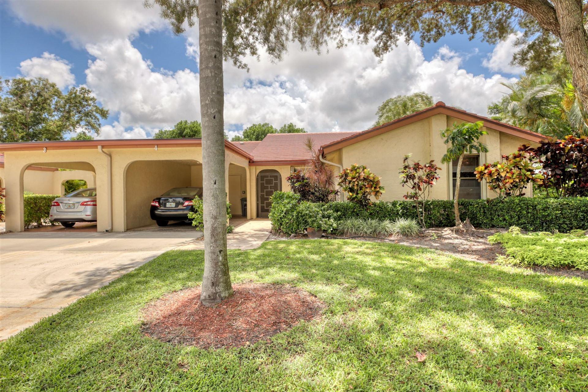 5944 Forest Grove Drive #4, Boynton Beach, FL 33437 - #: RX-10641638