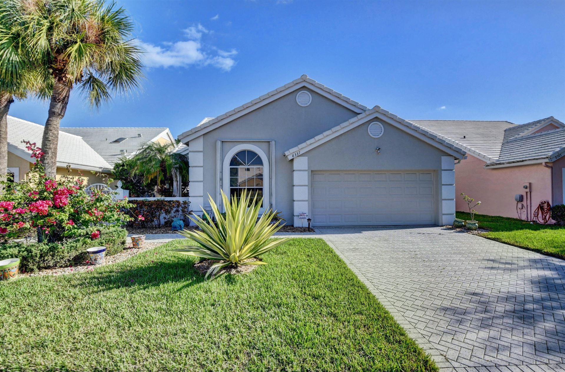 8337 Horseshoe Bay Road, Boynton Beach, FL 33472 - MLS#: RX-10753639