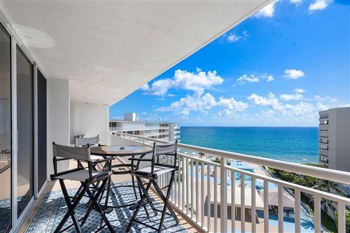 Photo of 3546 S Ocean Boulevard #909, Palm Beach, FL 33480 (MLS # RX-10751640)
