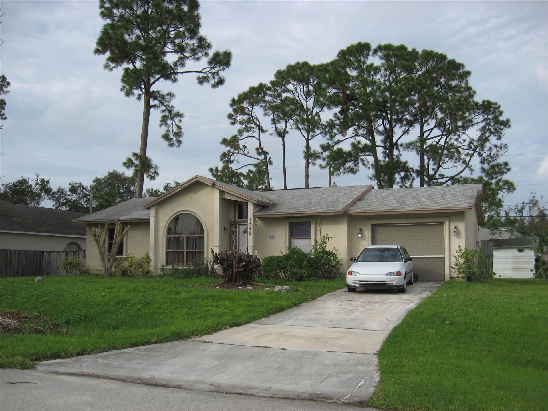 1549 SW Leisure Lane, Port Saint Lucie, FL 34953 - #: RX-10726640