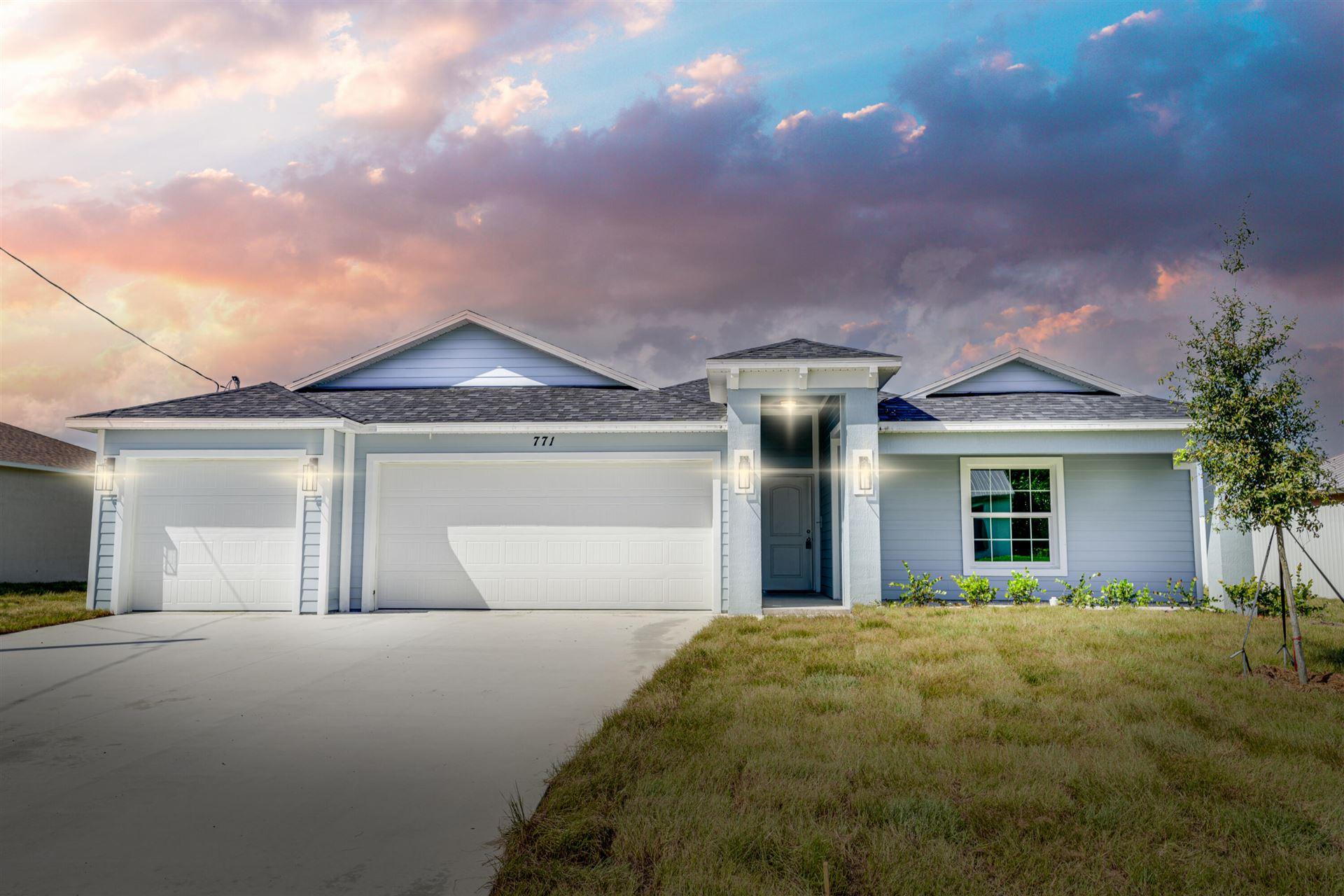 771 SW Abode Avenue, Port Saint Lucie, FL 34953 - #: RX-10742640