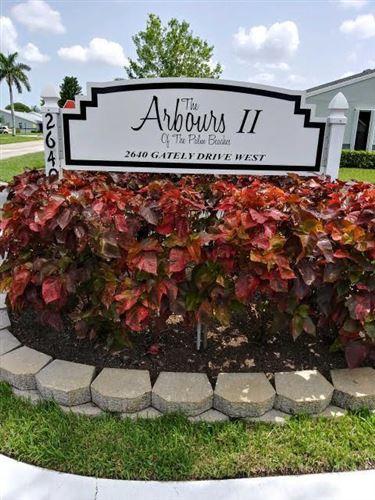 Foto de inmueble con direccion 2640 Gately Drive W #305 West Palm Beach FL 33415 con MLS RX-10634644