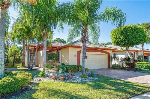 Photo of 8198 Brindisi Lane, Boynton Beach, FL 33472 (MLS # RX-10687644)