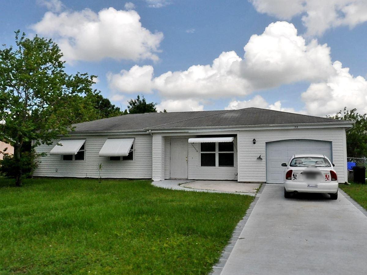 713 SW Belmont Circle, Port Saint Lucie, FL 34953 - #: RX-10637644