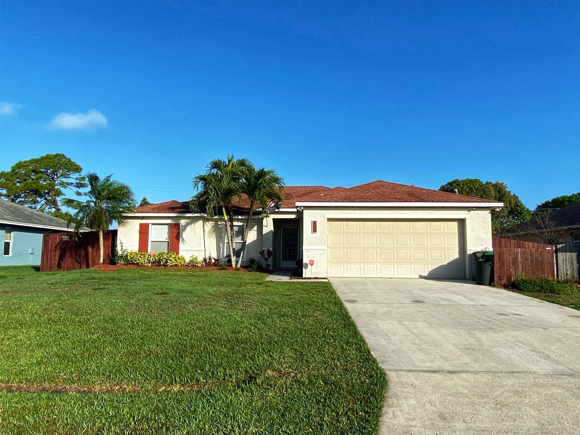 451 SE Volkerts Terrace, Port Saint Lucie, FL 34983 - #: RX-10696644