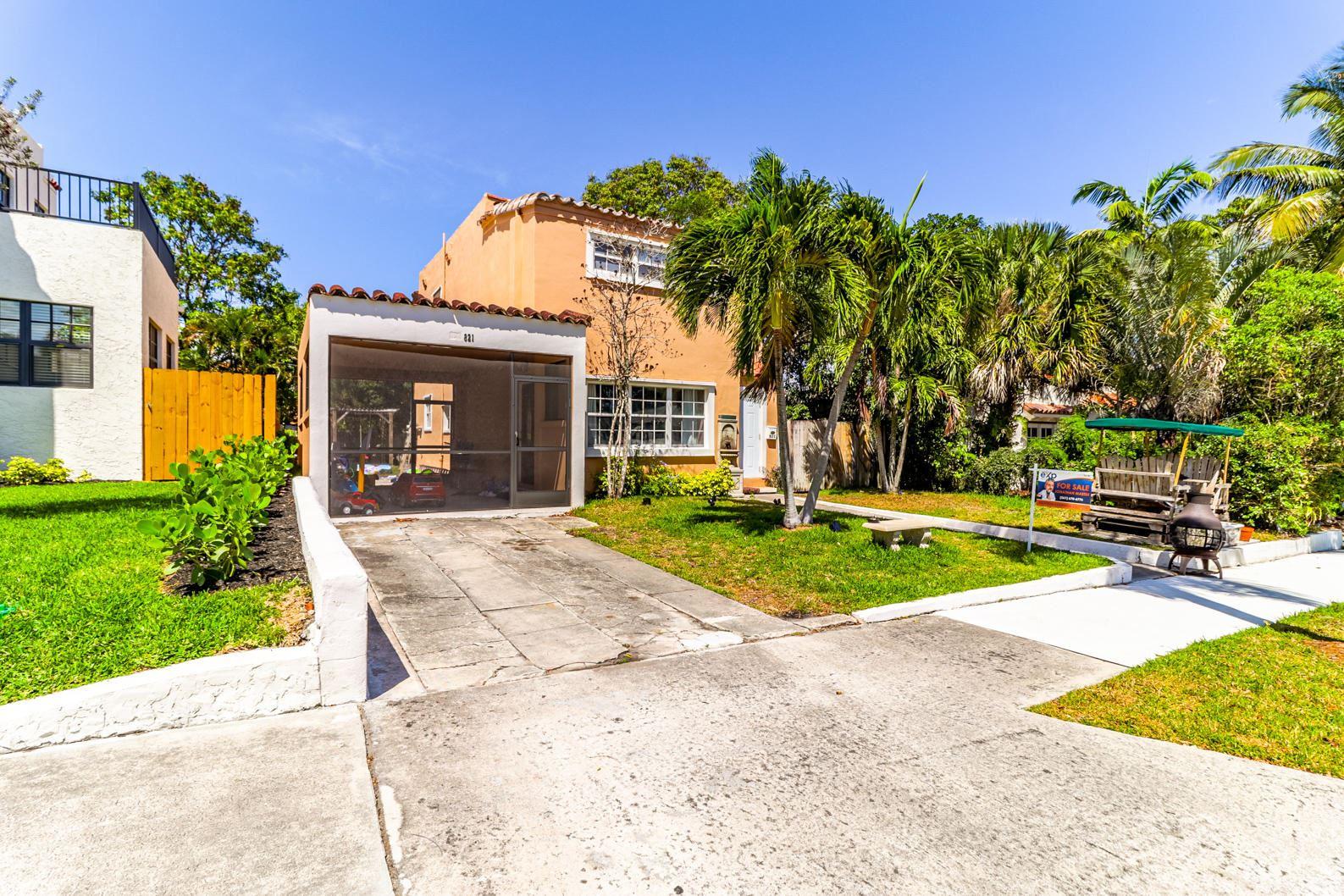 821 38th Street, West Palm Beach, FL 33407 - #: RX-10738644