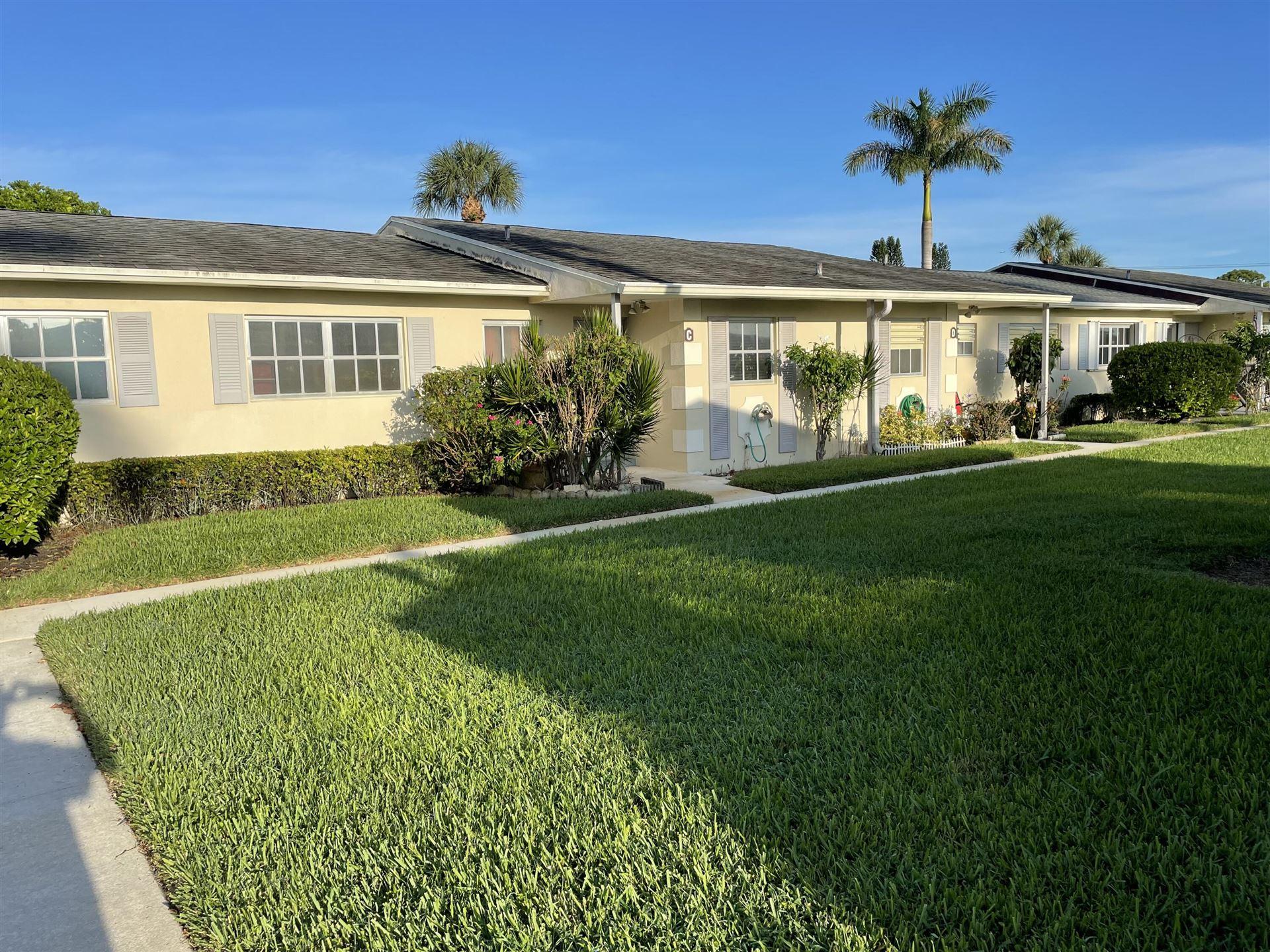 2781 Ashley Drive E #C, West Palm Beach, FL 33415 - #: RX-10747644