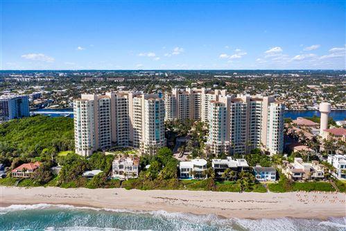 Photo of 3700 S Ocean Boulevard #510, Highland Beach, FL 33487 (MLS # RX-10681645)