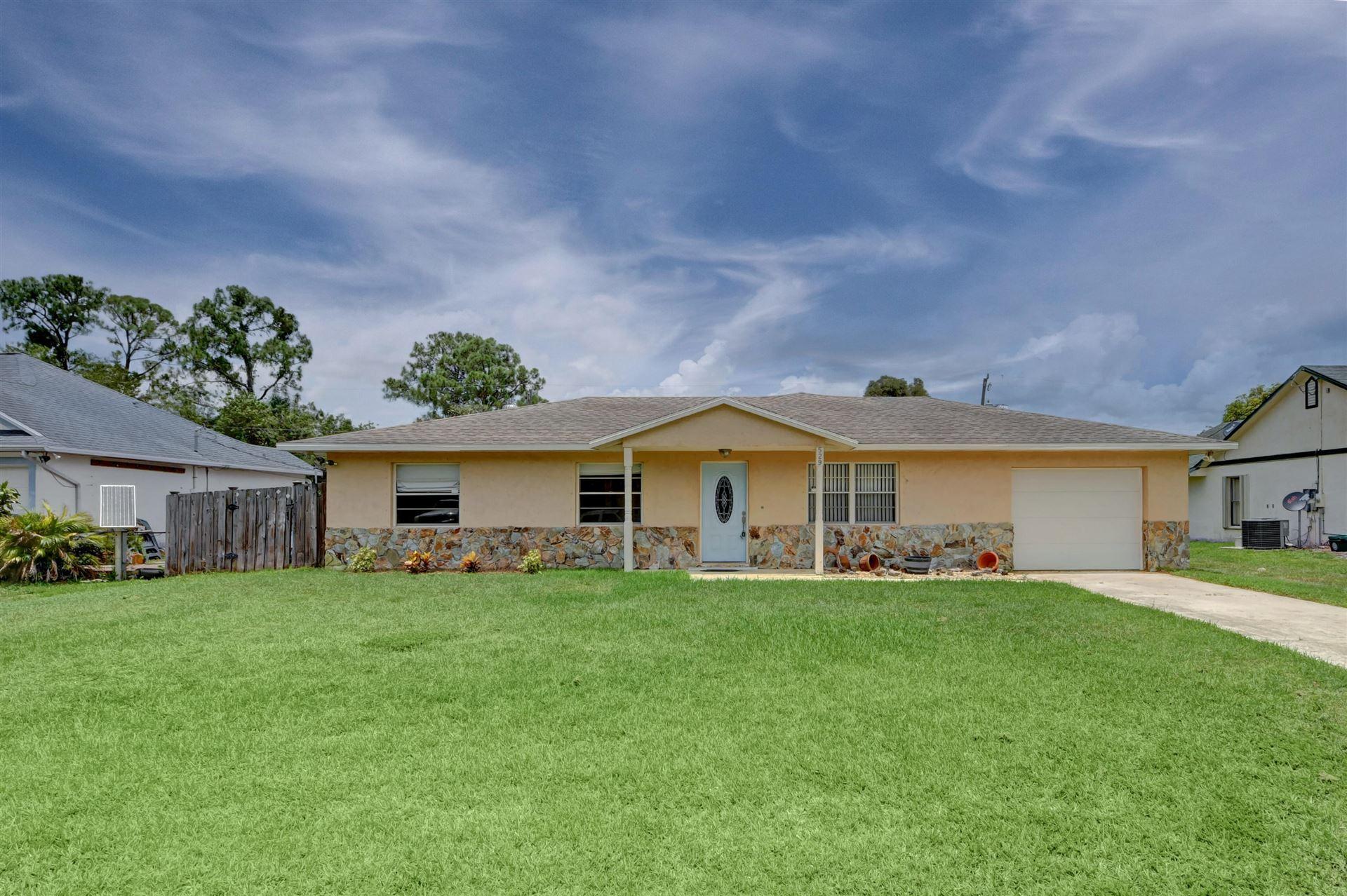 529 NW Riverside Drive, Port Saint Lucie, FL 34983 - #: RX-10724646