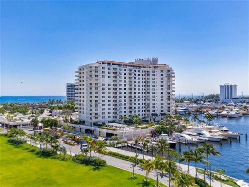 Photo of 1 Las Olas Circle #1114, Fort Lauderdale, FL 33316 (MLS # RX-10681648)