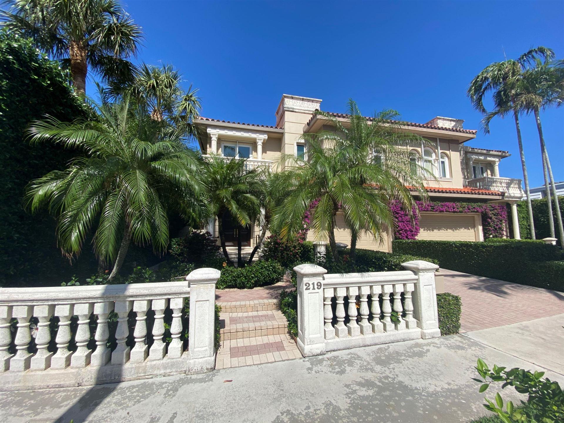 219 Everglade Avenue, Palm Beach, FL 33480 - #: RX-10692649