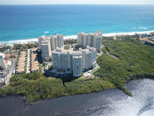 Photo of 3740 S Ocean Boulevard #610, Highland Beach, FL 33487 (MLS # RX-10580650)