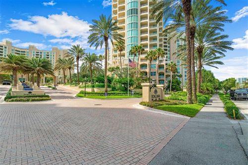 Photo of 3700 S Ocean Boulevard #206, Highland Beach, FL 33487 (MLS # RX-10720650)