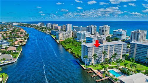 Photo of 3212 S Ocean Boulevard #1002-A, Highland Beach, FL 33487 (MLS # RX-10746650)