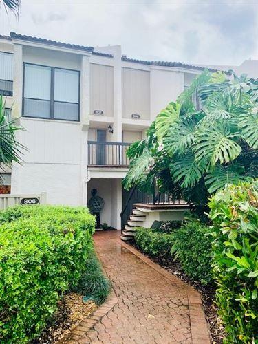 Foto de inmueble con direccion 807 Bridgewood Place #807 Boca Raton FL 33434 con MLS RX-10632651