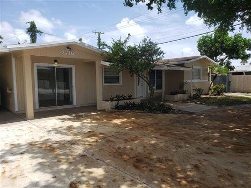 Foto de inmueble con direccion 2716 S Haverhill Road West Palm Beach FL 33415 con MLS RX-10641653