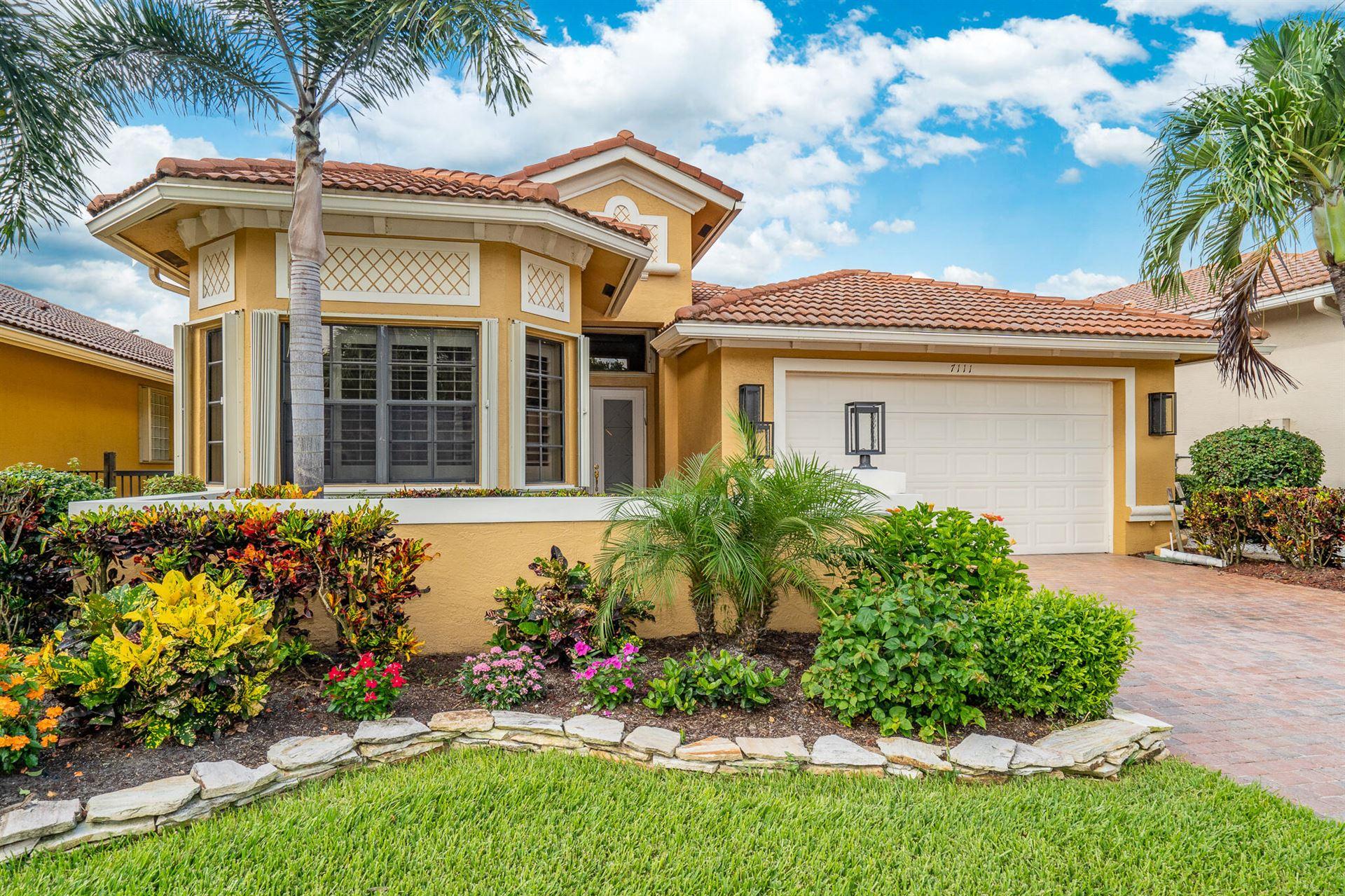 7111 Boscanni Drive, Boynton Beach, FL 33437 - MLS#: RX-10732653