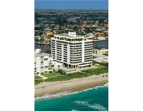 Photo of 2901 S Ocean Boulevard #902, Highland Beach, FL 33487 (MLS # RX-10696656)