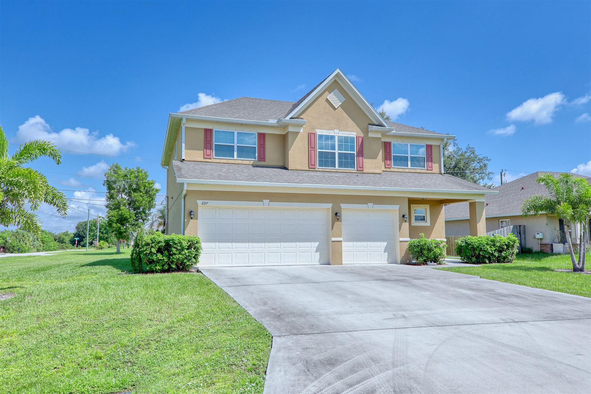 697 SW Kayak Avenue, Port Saint Lucie, FL 34953 - #: RX-10753656