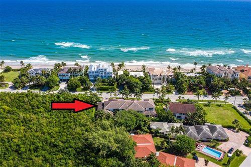 Photo of 4102 S Ocean Boulevard, Highland Beach, FL 33487 (MLS # RX-10667657)