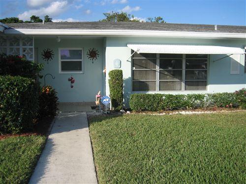 Photo of 215 High Point Court E #B, Delray Beach, FL 33445 (MLS # RX-10656658)