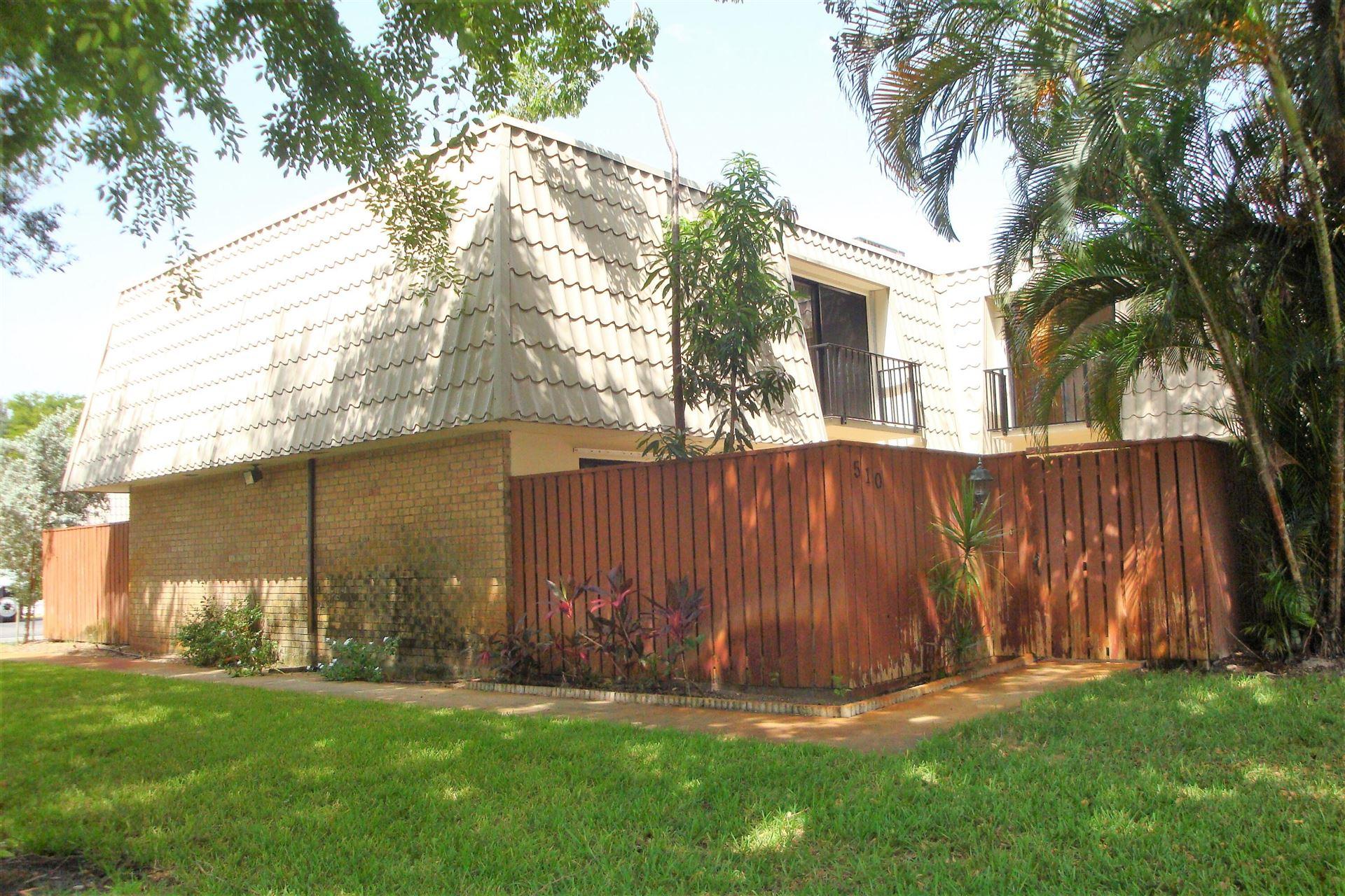 1700 Embassy Drive #510, West Palm Beach, FL 33401 - MLS#: RX-10742659