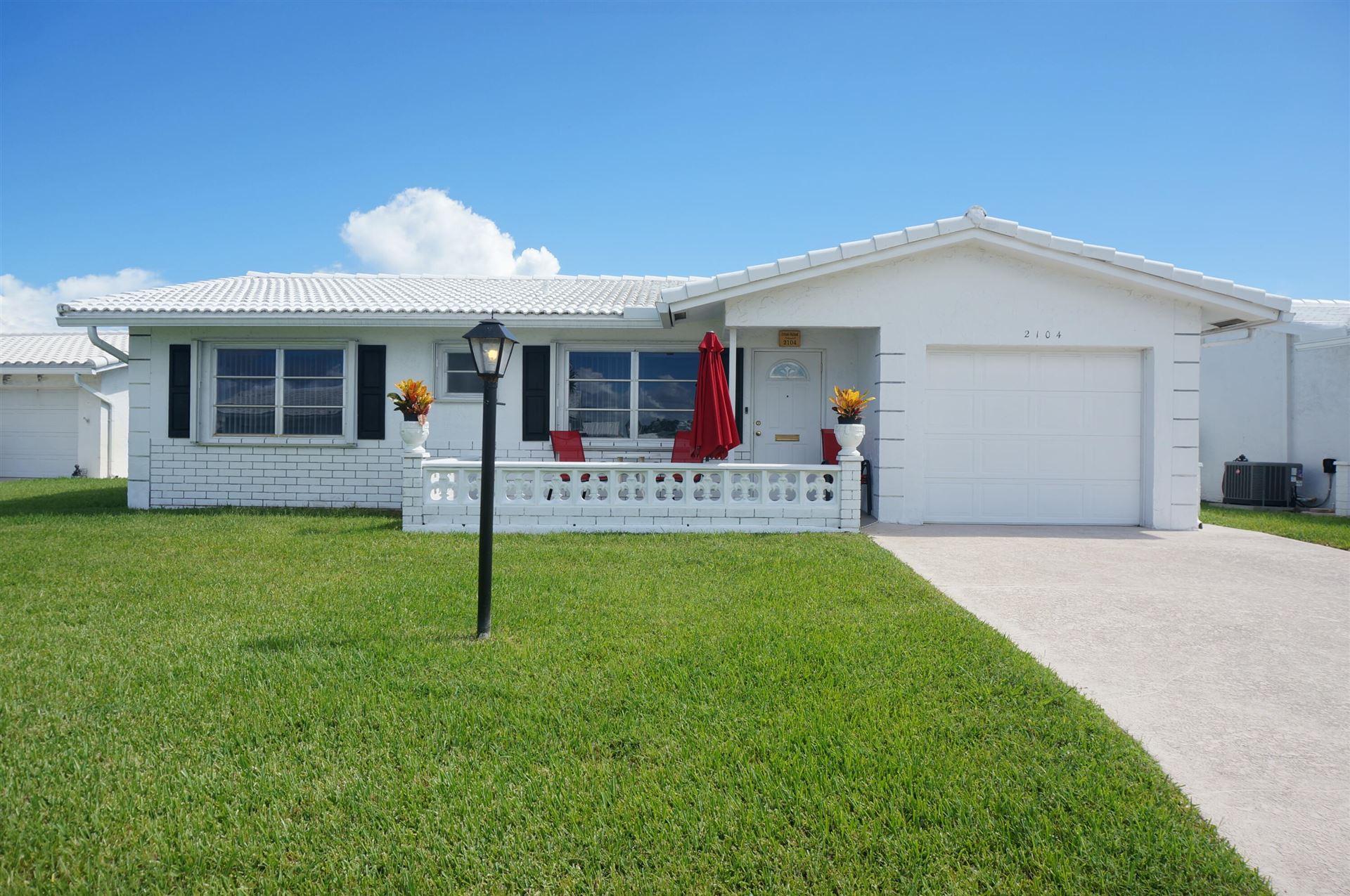 2104 Verdi Drive, Boynton Beach, FL 33426 - #: RX-10751659