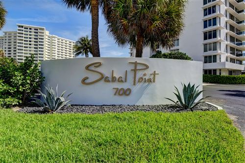 Photo of 700 S Ocean Boulevard #604, Boca Raton, FL 33432 (MLS # RX-10696660)