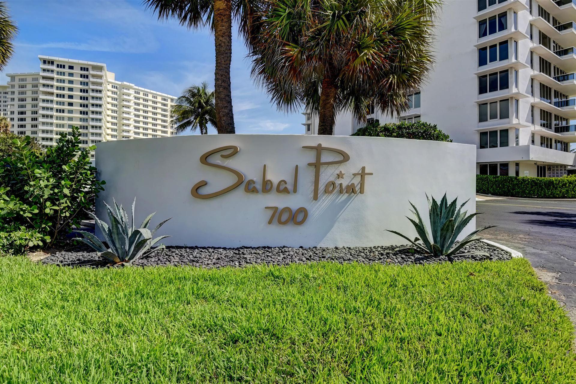 700 S Ocean Boulevard #604, Boca Raton, FL 33432 - MLS#: RX-10696660