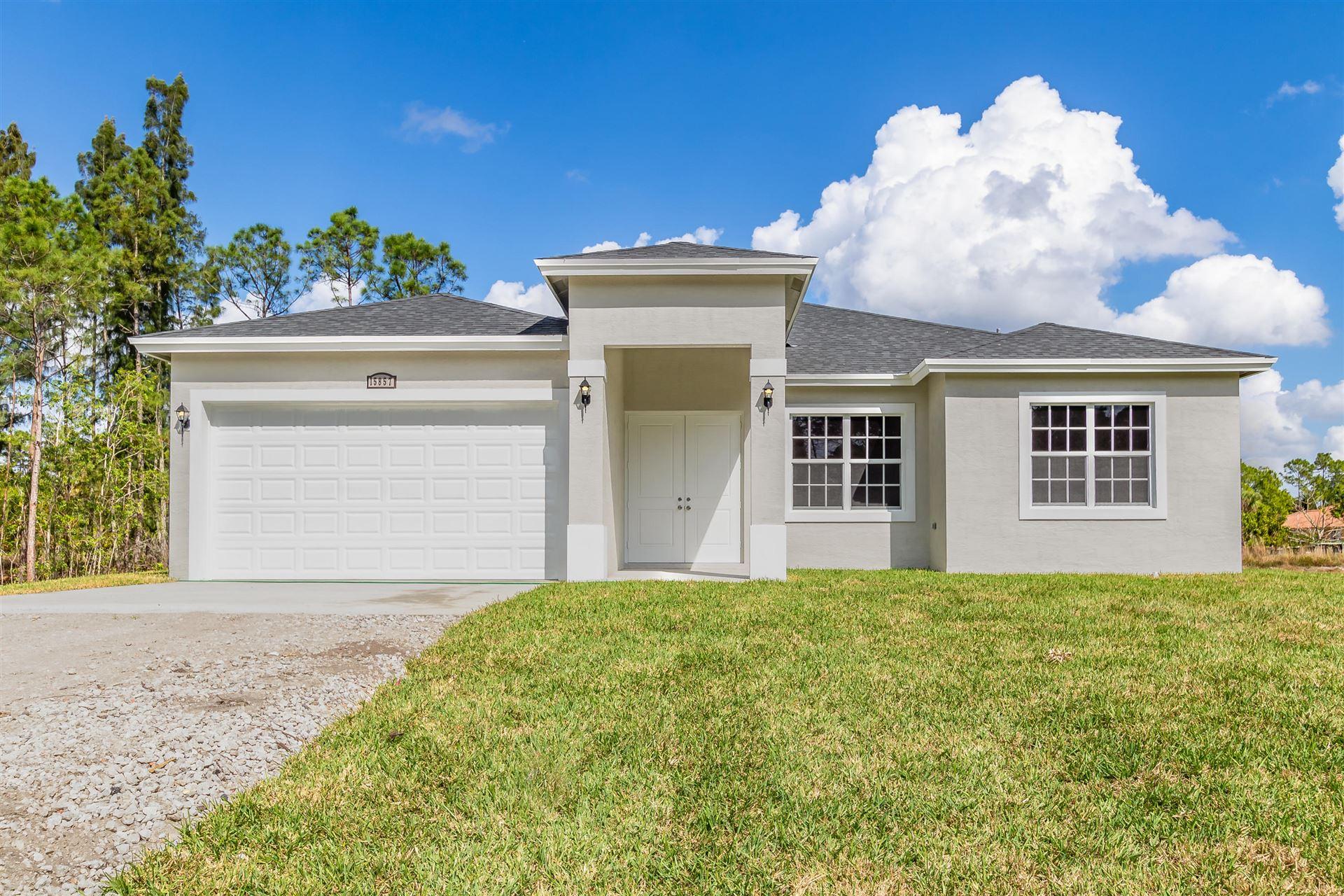 17313 81st Lane N, Loxahatchee, FL 33470 - MLS#: RX-10740661