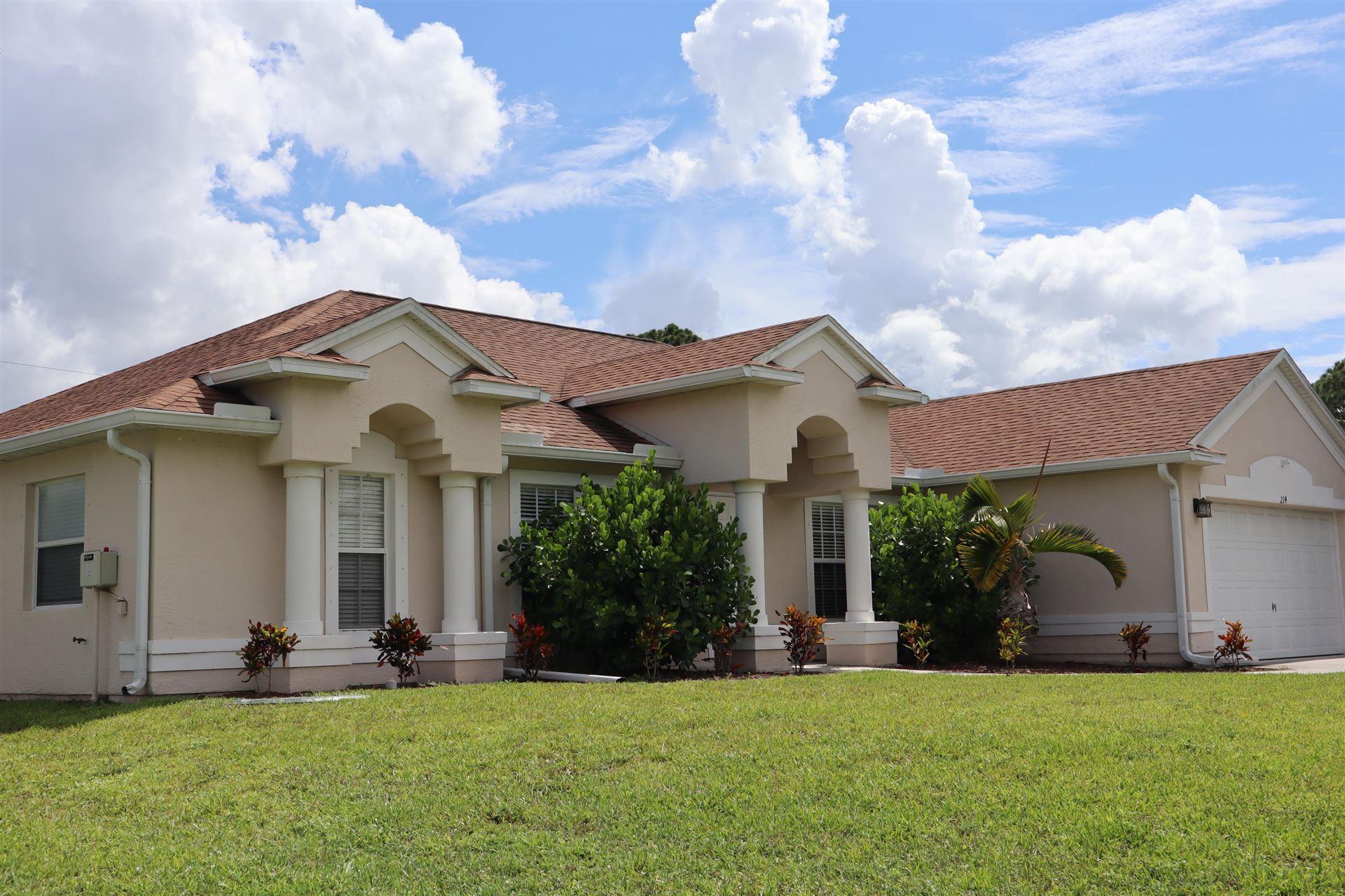 214 SW Aubudon Avenue, Port Saint Lucie, FL 34984 - #: RX-10624662