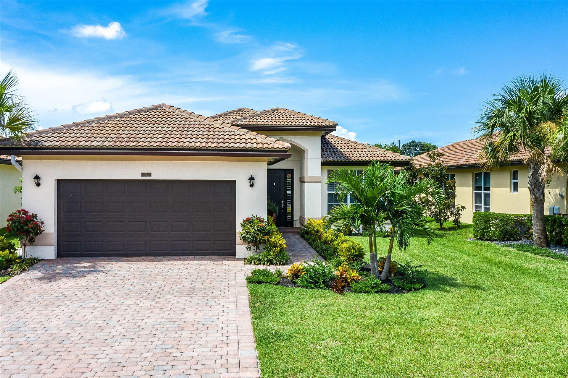4989 Manchia Drive, Lake Worth, FL 33463 - #: RX-10639662