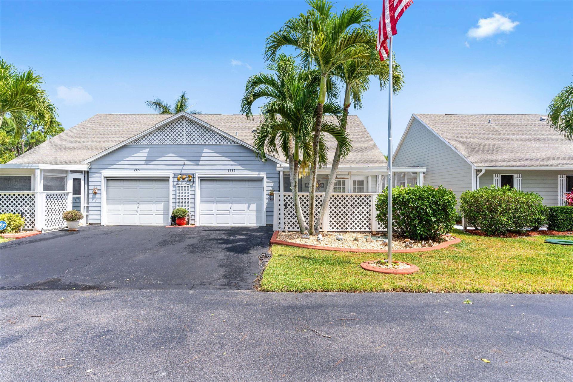 2436 SE Tropical East Circle, Port Saint Lucie, FL 34952 - #: RX-10707662