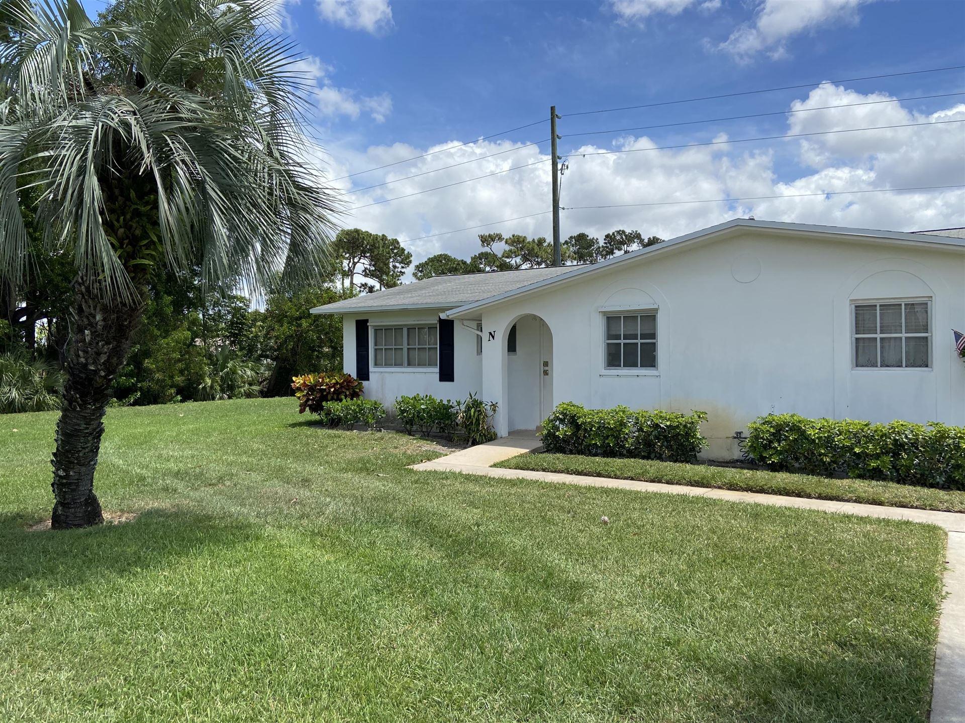 2916 Crosley Drive E #N, West Palm Beach, FL 33415 - MLS#: RX-10720662